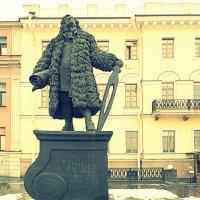 Памятник Доменико Трезини на  В.О. :: Фотогруппа Весна.