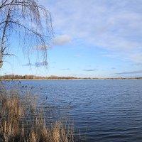 Голубое озеро в январе :: Маргарита Батырева
