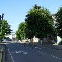 Улица   Михаила   Грушевского   в   Ивано - Франковске :: Андрей  Васильевич Коляскин