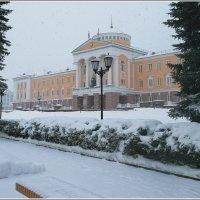 снегопад в городе (Ижевск Январь 2018) :: muh5257