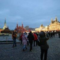 Красная площадь вечером :: Sergey Prussakov