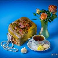 Шкатулка с розами. :: Михаил Волков