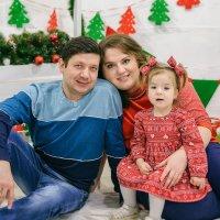 Новогодняя семейная фотосессия :: Юлия Сапрыкина