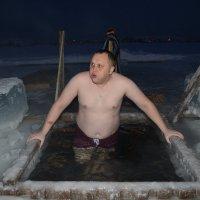 крещенские купания :: леонид логинов