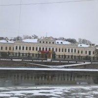На Фонтанке утром :: Митя Дмитрий Митя