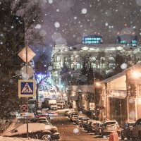 Крещенский снег :: Сергей Шруба
