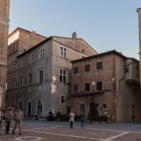Пьенца. Тоскана. Площадь папы Пия II (Piazza Pio II). :: Надежда Лаптева