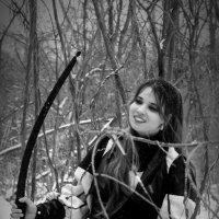 Лесная амазонка :: Ева Дубровская