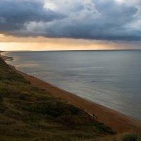 Закат над азовским морем :: Дина Горбачева