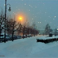 Снегопад :: °•●Елена●•° ♀