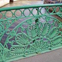 Фрагмент перил Зелёного моста :: alemigun