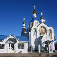 Свято Успенский храм в Белореченске. :: Вячеслав Медведев