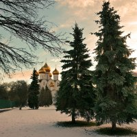 Редкий погожий денек нынешней зимы, в Ярославле :: Николай Белавин