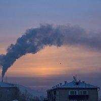 Морозное утро :: Валентина Ткачёва
