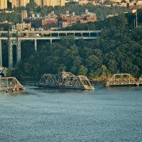 Разводной мост на Гудзоне :: Ольга Маркова