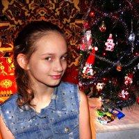 Новогодний портрет дочки :: Андрей Каманин