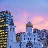 Москва, площадь Белорусского вокзала, староверческая церковь Николы :: Игорь Герман