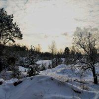 Зимний пейзаж :: Aleksandr Ivanov67 Иванов