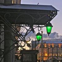 улица зелёных фонарей :: Елена