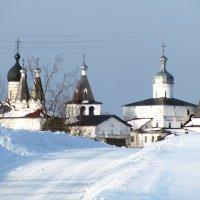 Зима в Ферапонтово :: Елена Швецова