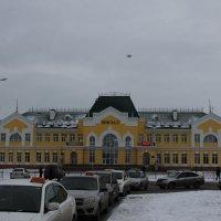 Карасук. Вокзал. :: Олег Афанасьевич Сергеев