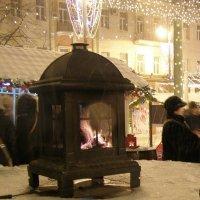Рождественские гулянья. Печка :: Анна Воробьева