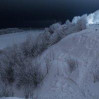 Морозная ночь :: Олег Синица