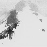 Зимний подъем на пик Терскол, 80-е годы. :: Юрий Матвеев