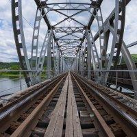 Ж/Д мост через Ману :: Анатолий Соляненко