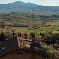 Пьенца. Тоскана. Вид на долину Вал д'Орча. :: Надежда Лаптева