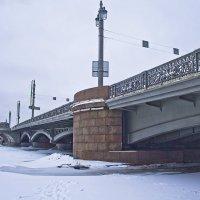 Благовещенский мост. :: Senior Веселков Петр
