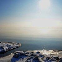 Зимнее утро на Черном море :: Александр Довгий