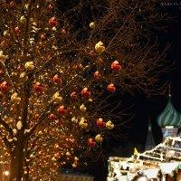 новогодняя Москва :: Ярослава Бакуняева