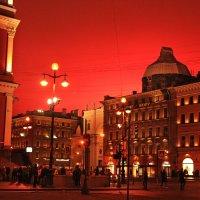 Салютное небо Санкт-Петербурга :: Ирина Румянцева