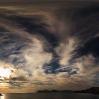 облачные крылья раскрылись в небесах :: viton