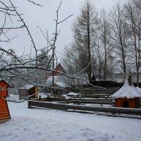 Деревенская усадьба зимой.... :: Tatiana Markova