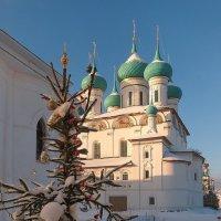 Толгский монастырь, январские праздники :: Николай Белавин