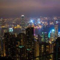 Ночной Hong Kong :: Евгений Банных