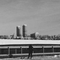 Москва черно-белая :: Светлана Короткая