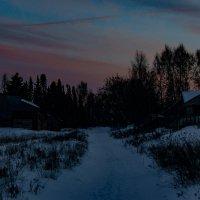 Солнце село :: Валерий Симонов