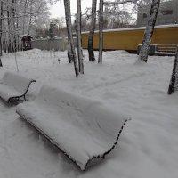 Настоящая зима в Москве :: Андрей Лукьянов