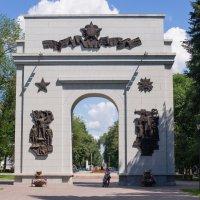 Триумфальная арка в Самаре :: герасим свистоплясов