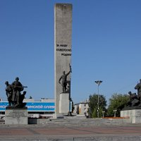 На площади Партизан. Брянск :: MILAV V