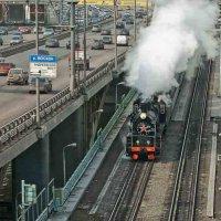 Москва, Андреевский мост. :: Игорь Олегович Кравченко