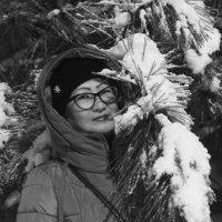 Вечер, снег, мороз :: Юрий Гайворонский