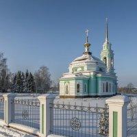 Церковь прп. Сергия Радонежского. :: Михаил (Skipper A.M.)