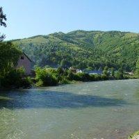 Река   Чёрная   Тиса   в   Рахове :: Андрей  Васильевич Коляскин
