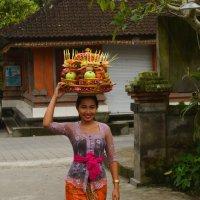 Бали. По дороге в храм :: Юрий Белоусов