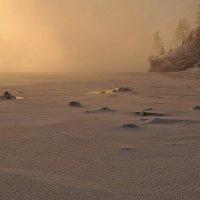 Мороз крепчает...вечер :: Сергей Герасимов