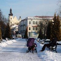 Зима в городе :: Елена Пономарева